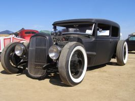 Low Black Hot Rod by Jetster1