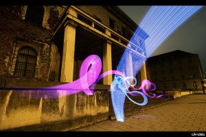 Finanzdirektion Lightpainting by flu0rgfx