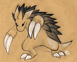 Craft Sandslash by raizy