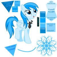Frozen Snowflake Sheet by proffes