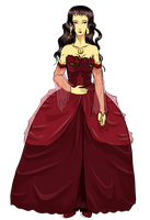 UTAU Full Body Ref - Marie Kagekine SYMPHONIA by Pianodream
