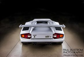 Lamborghini Countach Back by eviolinist