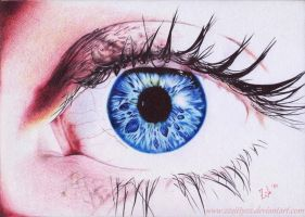 Blue eye by 22Zitty22