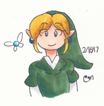 Copic oot Link doodle by Link-Pikachu