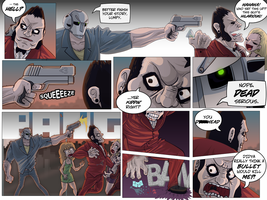 Kill All Superheroes: Page 5 by hyperboy