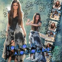 Blend Selena Gomez by CutinaEditions