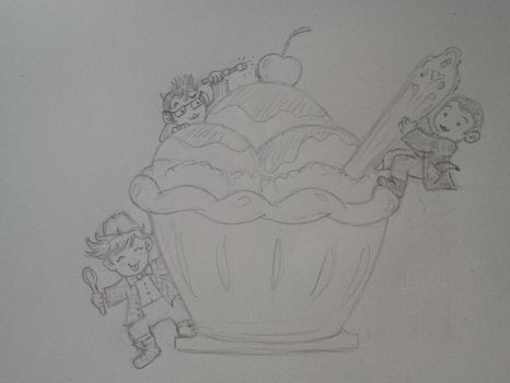 Tiny Doctor Ice Cream Party by GriffinChimm