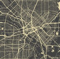 Dallas by MapMapMaps