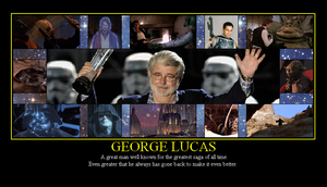 George Lucas: Creator of Star Wars by Winter-Phantom