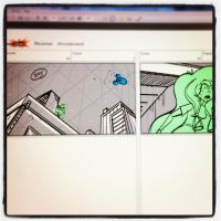 Thieves Storyboard, part 1 by cmbarnes