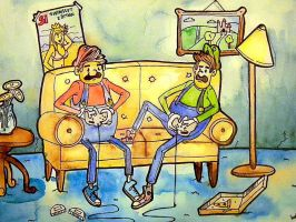 Mario and Luigi: Nintendo 64! by BackSeatSasquatch