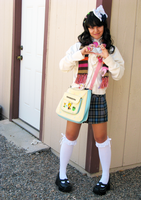 School Girl Gyaru by animagic4u