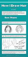 How I Draw Hair by thorikol