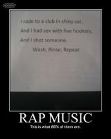 Rap Music -demotivation- by Dragunov-EX