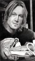 Keith Urban Portrait by Catluckey