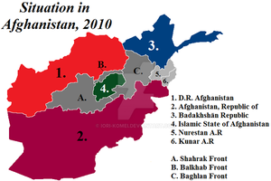 Divided Afghanistan by Iori-Komei
