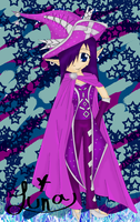 Haloween Witch Colored by frozenbreezeLuna