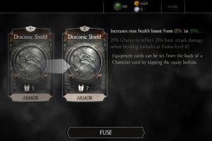 MKX Mobile Daily: Random Draconic Shield by HerMajestyYoungblood