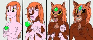 Druid She-Wolf TF by marillon954