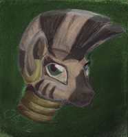 Zecora in Charcoal in Color by Obsequiosity