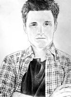 Josh Hutcherson by Shadowhunter97