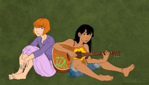 Disney - Lost Girls by fortheloveofpizza