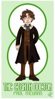 The Eighth Doctor by uccelli