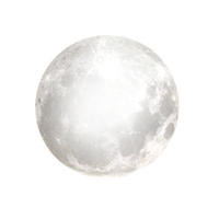 Bright Full Moon PNG by clairesolo