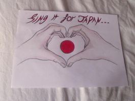Sing it for japan by XxnotmexX