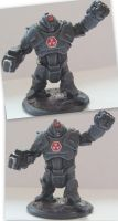 [15mm] Demiurg Converted Battlesuit by maxxev