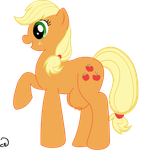 Applejack Crotch teats by Cogs-Fixmore