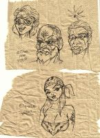 Doodling on a paper towel by ChrisHolm