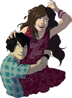 Commission: Eneis and Thyme by hyperionwitch
