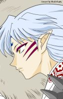 Sesshomaru Determined Colored by LostAffection