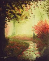 Fall season my painting by cliford417