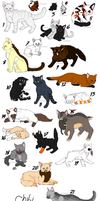 Blind Cats for SuperEchidna415 by JadeSpark