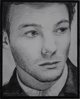 Louis Tomlinson Fabulous Mag drawing by lilmisscoolio