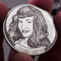 S104-Bettie-Page-#2-1976-Front by HiTechArtist