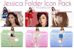 Jessica Folder Icon Pack by Missharajuku