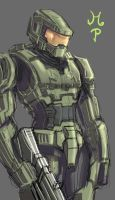 Master Chief by ManiacPaint