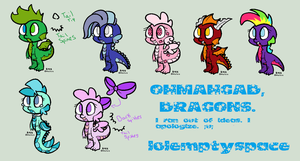Baby Dragon Adoptables by MagicalAdoptables