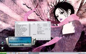 Nana Desktop with playlist by coradee