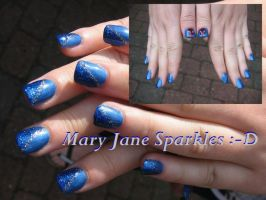 Mary Jane Sparkles by sams-originails