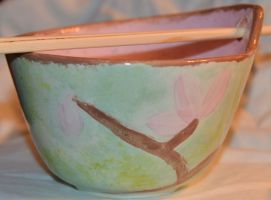 Cherry Blossom Bowl Side 4 by Wingedisis16