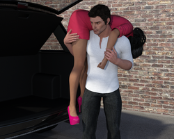 Denise - A Trouble In The Street 4 By Demiter3d by Curia-DD