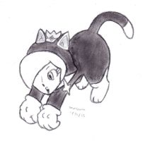 Cat Rosalina by DrChrisman