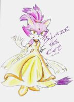 Blaze the Cat by Ehidna