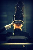 Center Drum Major by RiseAgainstMe18