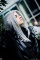 Sephiroth 'I remembered black skies' by Hirako-f-w