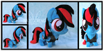 Night Riff Chibi Custom Plush by Nazegoreng